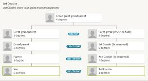 Blank Cousin Chart Exploring Your Dna Results Further Ancestry Blog