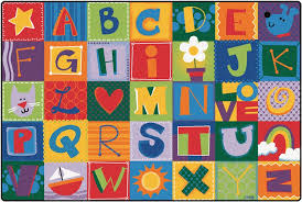 kidsoft toddler alphabet blocks classroom rug