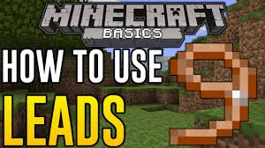 how to make a lead in minecraft. Beautiful How Minecraft Xbox One  HOW TO USE LEAD Leads Explained PS4 U0026  360 One TU19 YouTube Inside How To Make A Lead In C