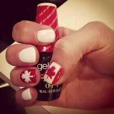Canada Day Gel Nail Designs Canada Day Nails Nails Canada Day Nails Nail Designs