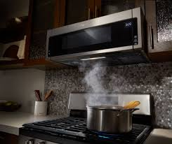 over the stove microwave. Contemporary Over Ft Low Profile OvertheRange Microwave Hood Combination Silver WML55011HS   Best Buy To Over The Stove O