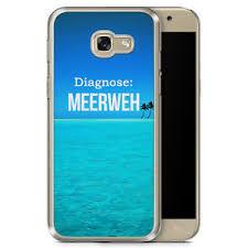 Details Zu Samsung Galaxy A3 2017 Hard Case Hülle Diagnose Meerweh Motiv Design Spruch Sch