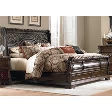 Liberty Bedroom Furniture Liberty Furniture Arbor Place Sleigh Bed Reviews Wayfair