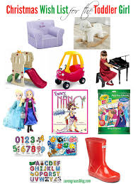 Christmas Wish List for the Toddler | Toddler girls, Parents and Gift
