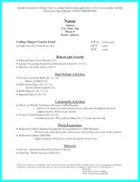 Activity Resume Templates Job Resume Templates For High School Students C Compile Time Student