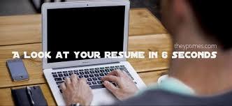 your-resume-6-secs