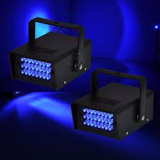 Strobe Light Flashlight Mini 24 Led Ac Blue Flashlight Strobe Stage Light Disco Club