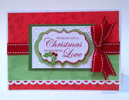 Card Making Ideas Christmas