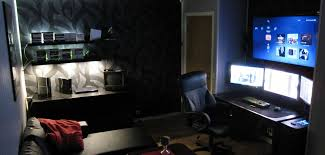 bedroom comely excellent gaming room ideas. 11. Accent Lighting Makes All The Difference Bedroom Comely Excellent Gaming Room Ideas M
