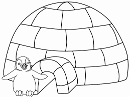 Small Picture Winter coloring pages penguin igloo ColoringStar