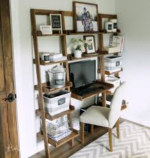Wall Unit Desk Combo Ana White Leaning Wall Ladder Desk Diy Projects