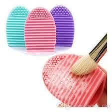 silicone makeup brush cleaner. makeup brush cleaner silicone brushegg egg brushes wash cleaning glove makeup washing c