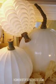 deb s glass globe pumpkins homewardfound decor