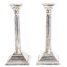 candle pedestal stand modern shabbat candlesticks candle tray tall glass candle holders centerpieces