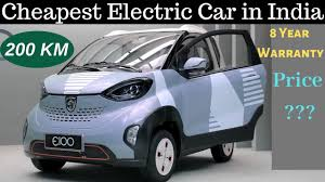 est electric car in india to