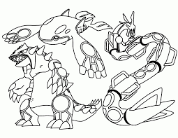 Kyogre Coloring Pages Awesome Primal Primalgroudon Pokemon