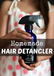 homemade hair detangler recipes