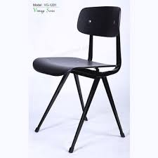 black metal dining chairs.  Metal Triumph Vintage Black Metal Dining Chair Industrial Cafe Chair Frame  Plywood To Chairs H