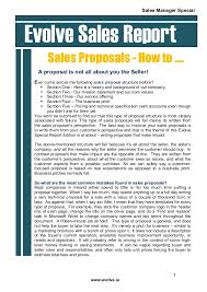 Ho to write a sales proposal that wins the business special report SlideShare