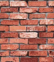 Faux Brick Wallpaper Wall Design Paper ...