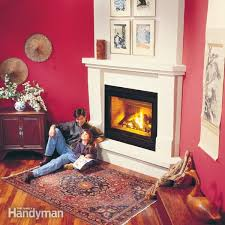 brilliant how to install a gas fireplace family handyman throughout diy gas fireplace