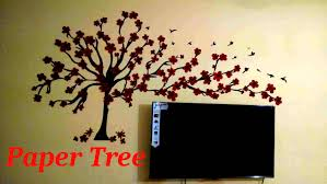 Small Picture Wall TreePaper Wall Art YouTube