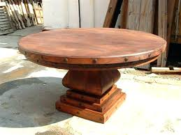 rustic round table and chairs light wood round dining table rustic round dining table for the