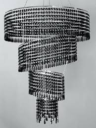 modern black chandelier terrific black crystal chandeliers black chandelier modern black spin crystal chandeliers and silver