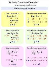 algebraic equations examples math solving linear equations examples math maths algebra maths algebra equations algebraic equation
