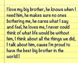 I Love My Brother Quotes Mesmerizing I Love My Brother Quotes Unifica Inspiring Quotes