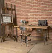 wooden desks for home office. modern industry reclaimed wood desk wooden desks for home office