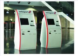Lost Luggage Kiosks At Geneva Airport Photo Courtesy Swissport