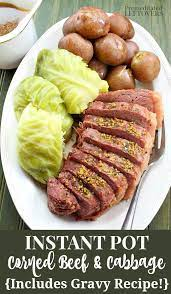 to cook corned beef in an instant pot