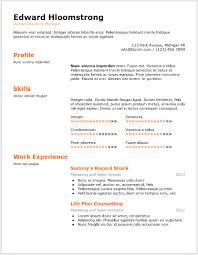 Resume On Google Docs 100 Free Minimalist Professional Microsoft Docx And Google Docs CV 4