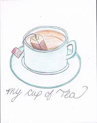 tea drawing tumblr. Simple Tumblr Artist Cup Draw Drawing Love Tea In Tea Drawing Tumblr E