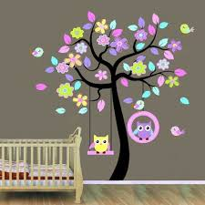 hh baby boutique nursery owl wall decals nursery tree wall decals owl wall decor on tree wall art baby nursery with owl canvas art baby nursery owl canvas set girls initial monogram