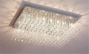 modern fashion glass k crystal chandeliers on close to ceiling crystal light fixtures