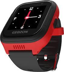 Умные часы (smart watch) Geozon LTE <b>Black Red</b> (G-W01RBLK ...