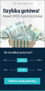 ✅ Chwilówka 1000 zł bez BIK - Twój Bankomat