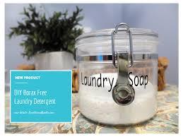 diy borax free laundry detergent laundry clean