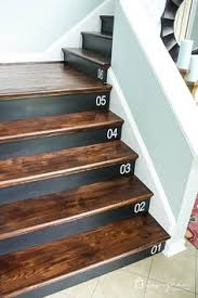 wood stairs are beautiful but they can be a bit boring too learn how to embellish your stair risers with these tips plus there is a full tutorial on