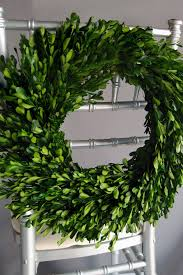 Hops For Decoration Preserved Round Boxwood Wreath 16in