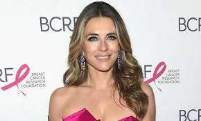 Liz hurley pictures and photos. Elizabeth Hurley Stuns Sans Pants In Cheeky Photo Wearing Only A Sweater Hello