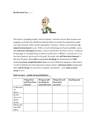 30 FREE Future Perfect Worksheets