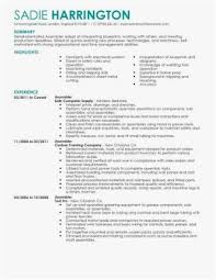 Production Line Worker Resume Examples Assembly Resume Clean Room