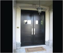 black double front doors. Modren Black Contemporary Double Front Doors  Inviting Black Glass  Main Door Designs Lovely Throughout F