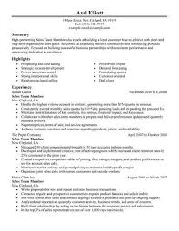 Classic Resume Example Gorgeous Team Members Sales Resume Example Classic 28 28×28 Retail Examples