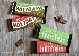 The days are flying by and it's time to start preparing. Christmas Candy Bar Wrappers Printable Somewhat Simple