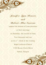 Printable Peacock Wedding Invitations Ewi156 As Low As 0 94