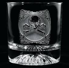 skull whiskey glass engraved rotgut whiskey glass at crystal imagery skull whisky glass